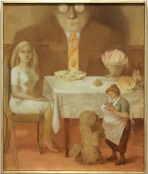 Dorothea Tanning. Retrato de familia. 1954. Onlyartravel