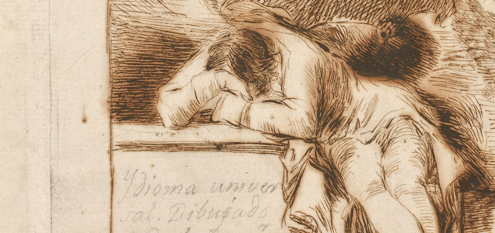 GOYA. DIBUJOS. SOLO LA VOLUNTAD ME SOBRA. Museo del Prado. Hasta el 16 de febrero de 2020.