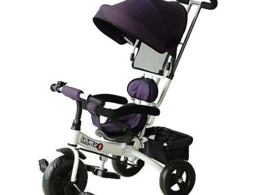 homcom tricycle enfant evolutif poussette pare sol - Le Tricycle évolutif