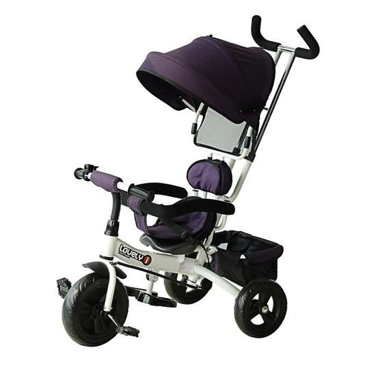 homcom tricycle enfant evolutif poussette pare sol - Le Tricycle évolutif