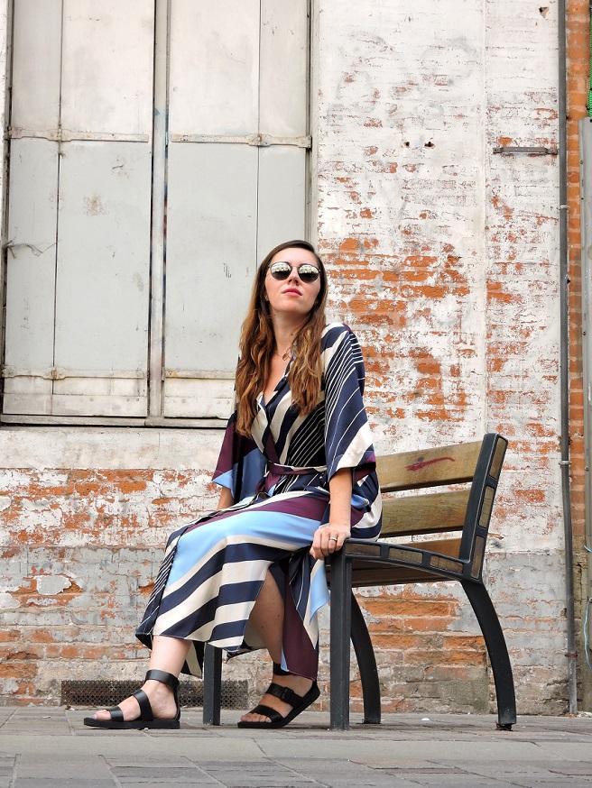 kimono dress onlybrightness - Mango Kimono Dress