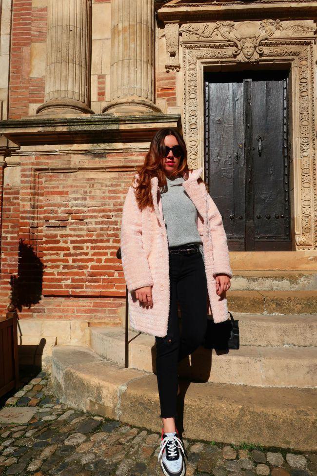 manteau rose onlybrightness 3 #pinkcoat #manteaurose