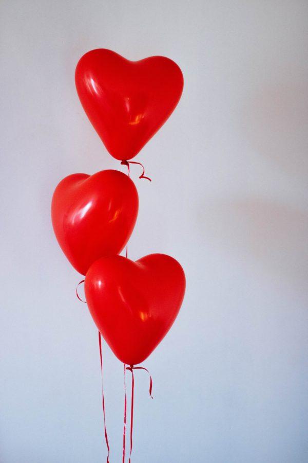 ballon cœur saint valentin