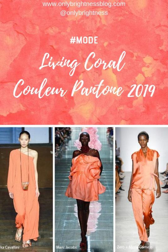 Living Coral Couleur Pantone 2019 e1551184277829 - Mode printemps/été 2019 : couleurs pastel et living coral