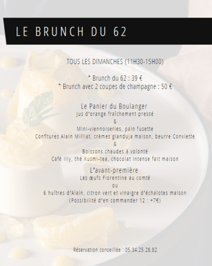 brunch sixty two onlybrightness page 1 e1550219278309 - Restaurant le Sixty Two – Villa du Taur