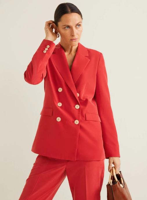 tailleur corail mango été 2019 - CRUSH : Mode Femme Été 2019