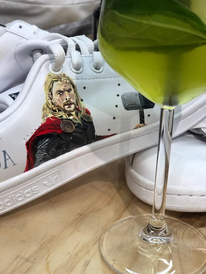 docteur sneaker custom