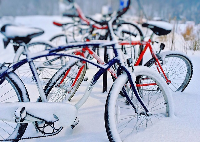 Fietsen in de winter