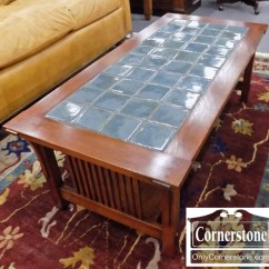 Stickley Sterling Sofa Table Bed Nz Auckland Mission Style Tile Top Coffee Baltimore Maryland Sold