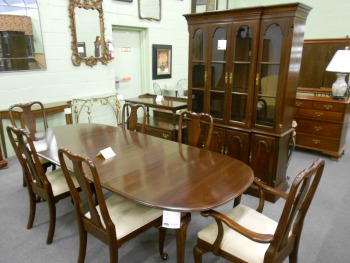 ethan allen queen anne dining chairs umbrella chair walmart mahogany and cherry traditional room furniture arriving daily!! | baltimore, maryland ...