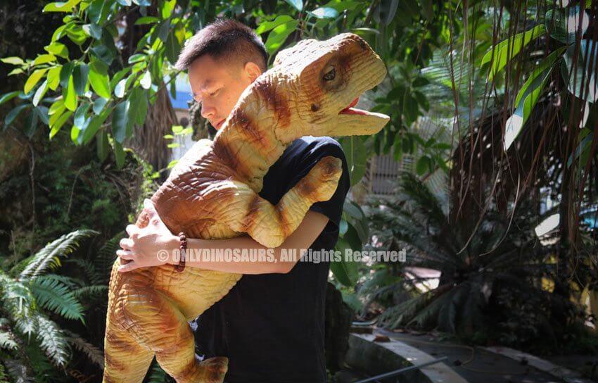 Baby Brachiosaurus Hand Puppet