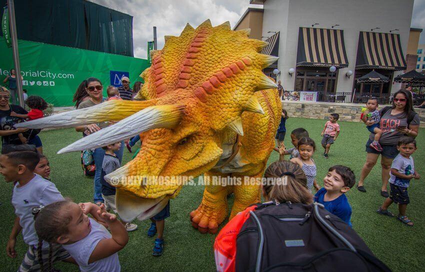 Custom Triceratops Costume