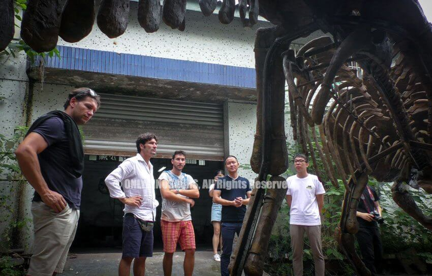 Italy Clients Finalize Animatronic Dinosaur Order