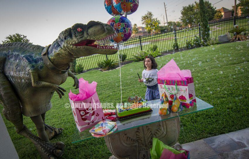 Real Raptor Costume for Birthday Party