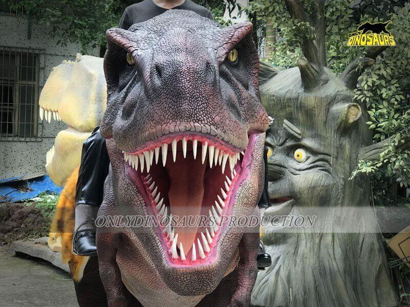 Realistic Riding Dinosaur Costume 3