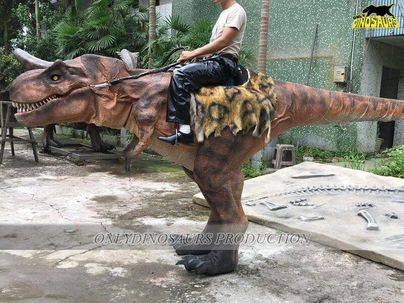 Realistic Riding T Rex Costume Size 1