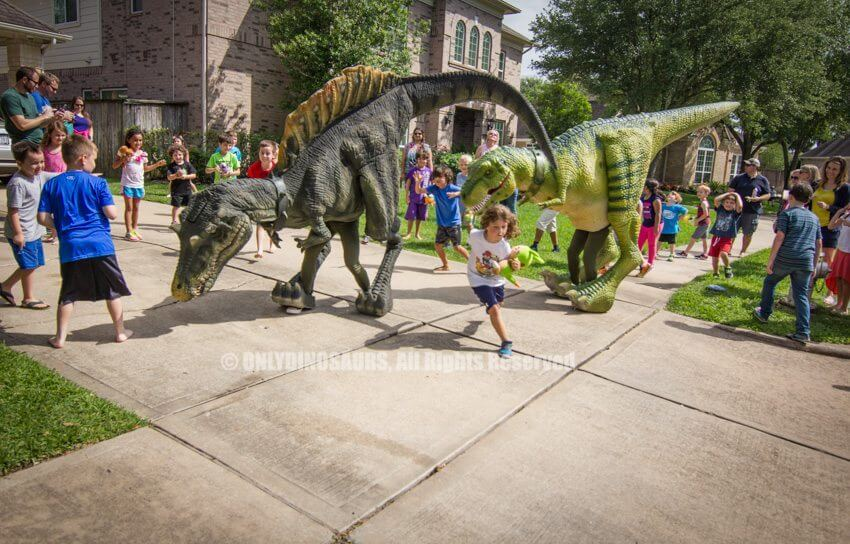 Realistic Spinosaurus Costume for Birthday Party