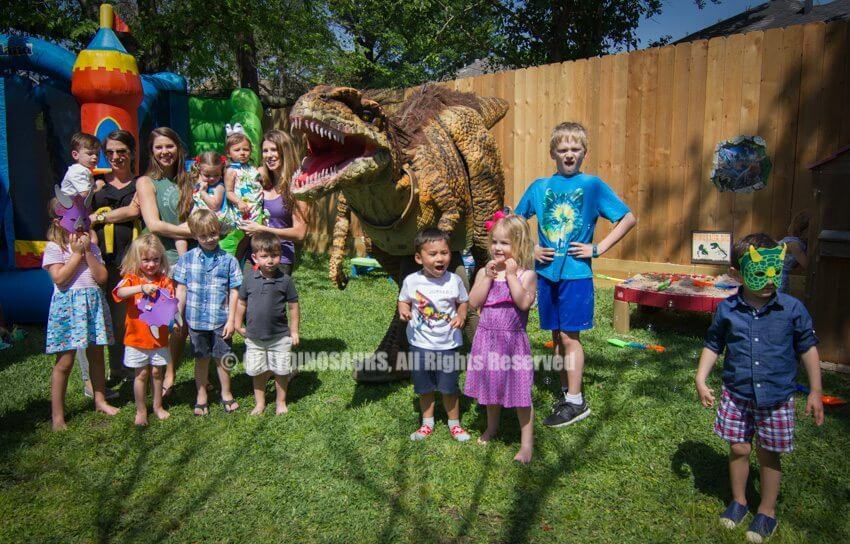 Velociraptor Costume for Birthday Parties