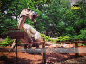 Maiasaura in Dinosaur Park