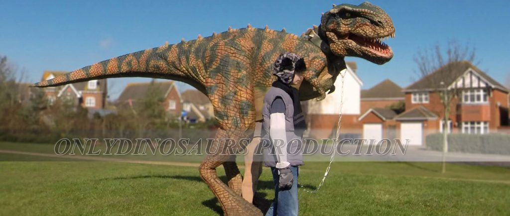 Animatronic Dinosaur Costumes 1