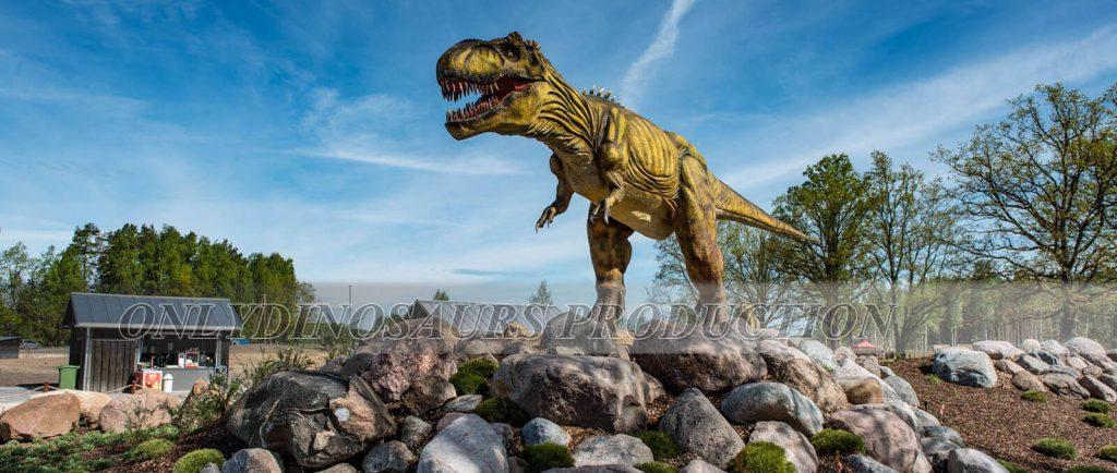 Animatronic T Rex in Dinosaur Theme Park 2