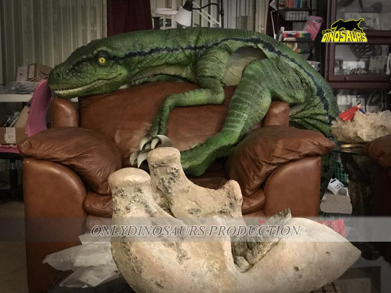 Baby Velociraptor Puppet
