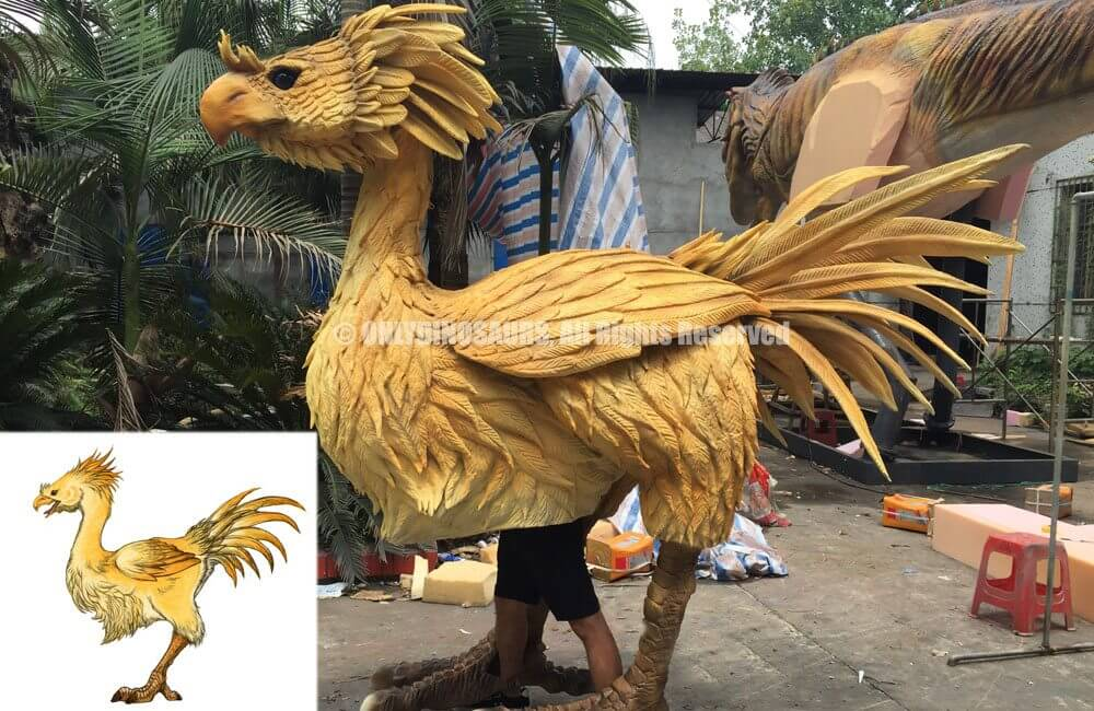Custom Chocobo Costume