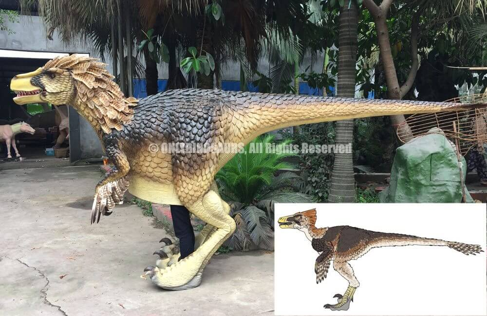 Custom Raptor Chacha Costume