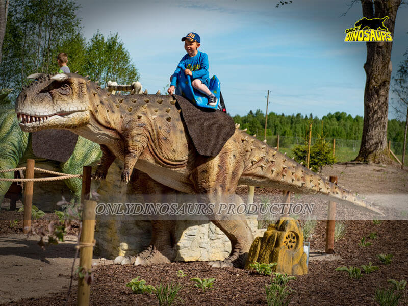 Dinosaur Ride for Theme Park