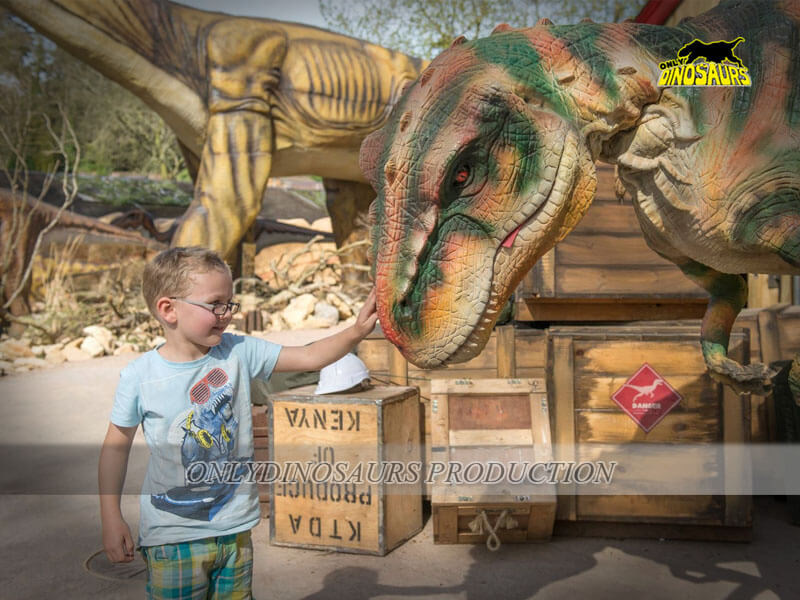 Ride On Dinosaur Costume 1