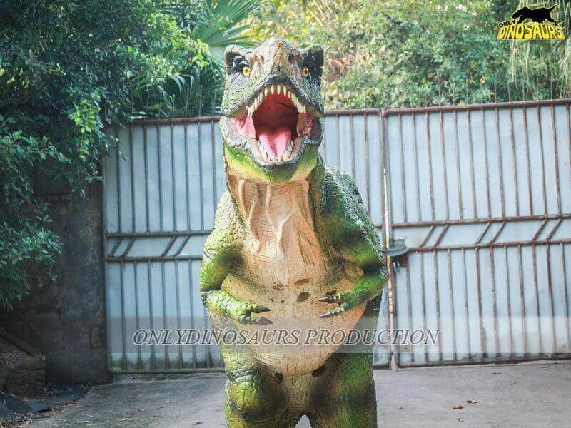 Silicone Skin Dinosaur Suits 4