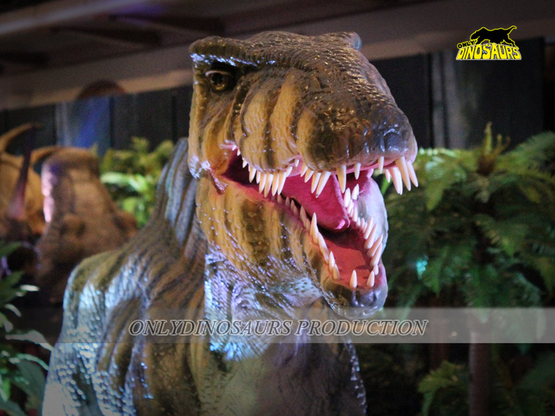 animatronic dinosaur exhibits