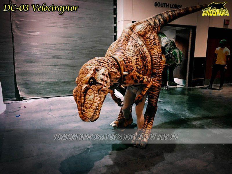 DC 03 Realistic Dinosaur Velociraptor Suit