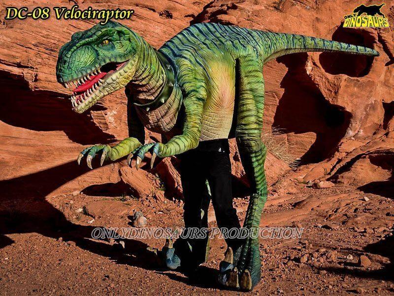 DC 08 Realistic Dinosaur Raptor Suit