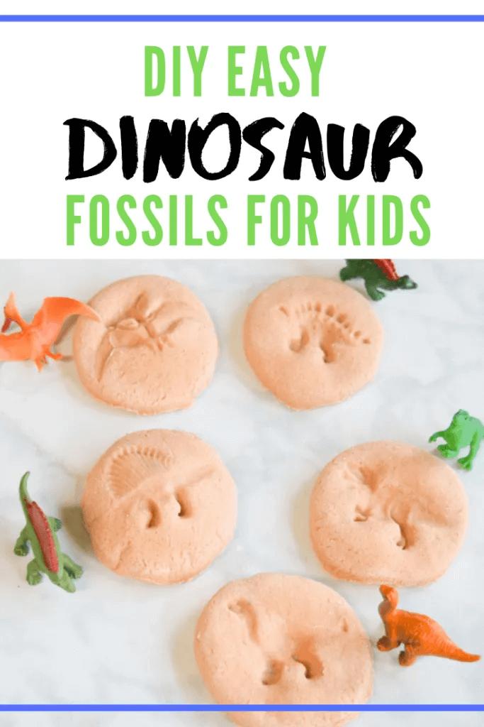 DIY Easy Dinosaur Fossil for Kids 1