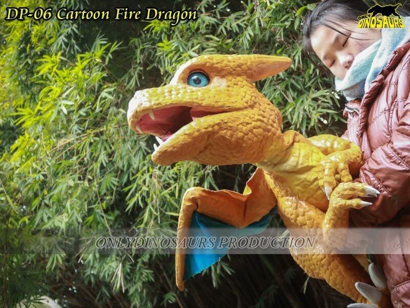 DP 06 Cartoon Fire Dragon 1