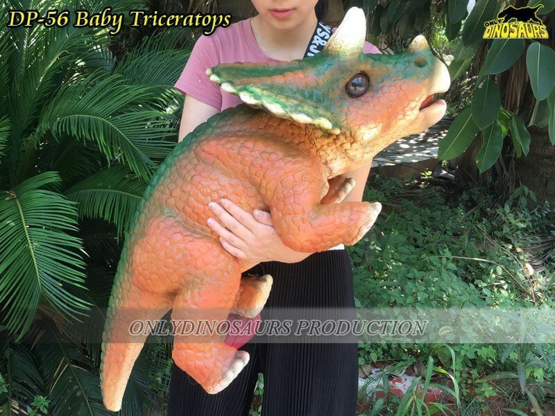 DP 56 Triceratops Puppet