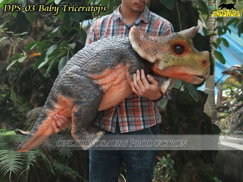 DPS 03 Baby Triceratops Puppet