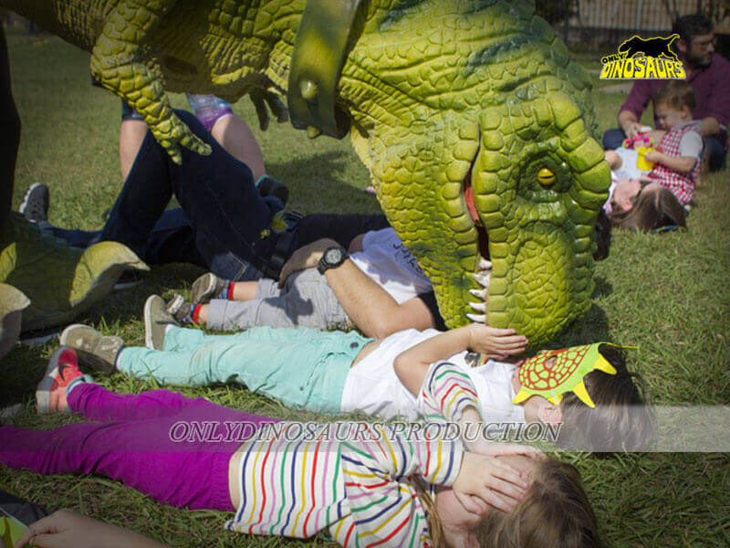 Dinosaur Costume Activity with Kids