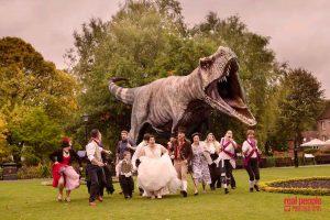 Dinosaur Wedding Outdoor