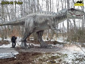 MDZ 01 Animatronic Dinosaur trex