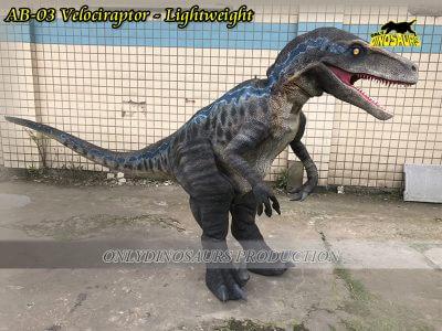 Non Mechanical Velociraptor Suit Lightweight AB 03 400x300 1