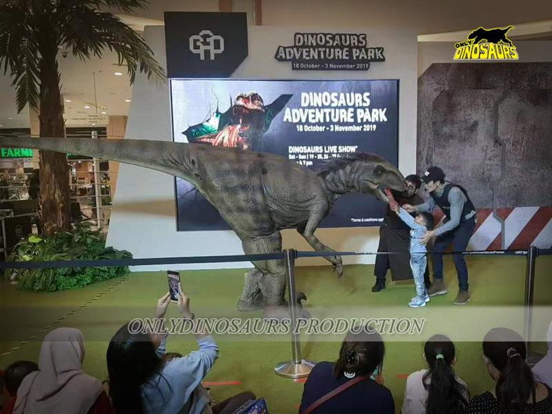 Raptor Costume 3