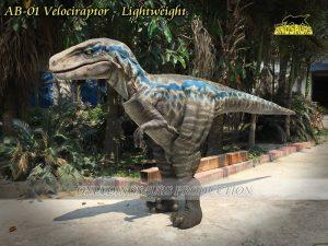 Realistic Velociraptor Suit Lightweight AB 01