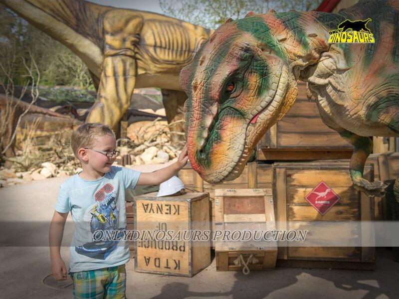 Ride On Dinosaur Costume