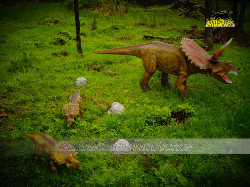 Triceratops and Baby