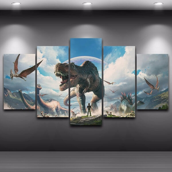 Dinosaur Painting and Artwork 1
