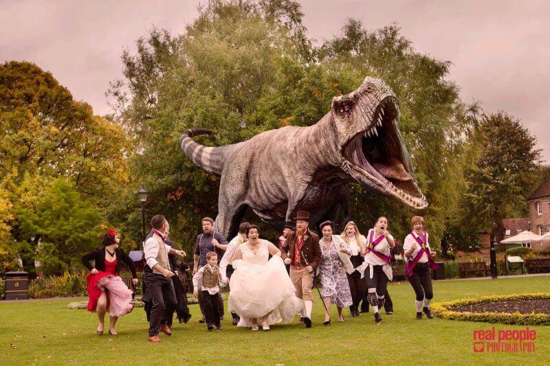 Dinosaur Wedding Outdoor 800x533 1