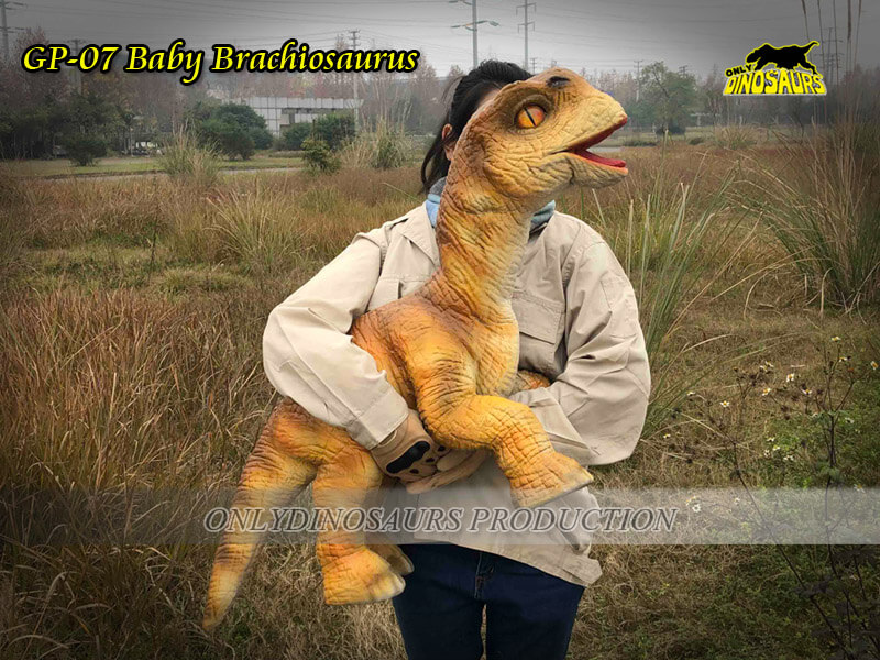 GP-07 Baby Brachiosaurus with Glove
