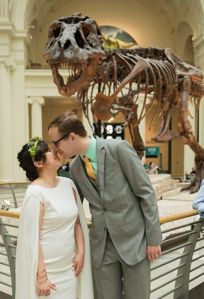 Jurassic Style Venue Wedding